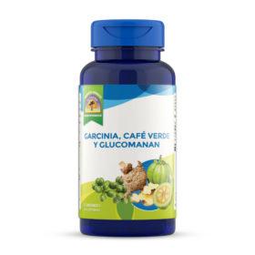 Garcinia, Café Verde y Glucomanan
