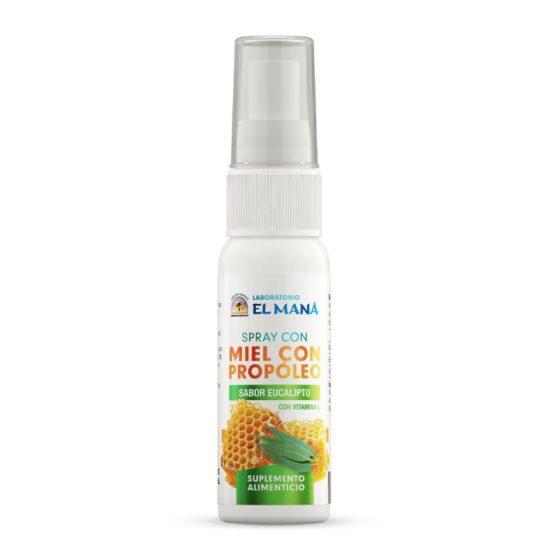 Spray con Miel con Propóleo Sabor Eucalipto P1